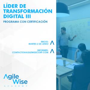Lider de Transformación Digital - Agile Wise
